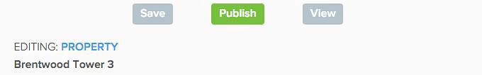 publish rental listing