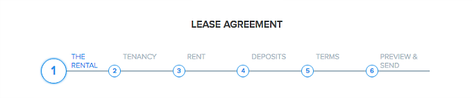 create Digital Lease Agreement in Pendo