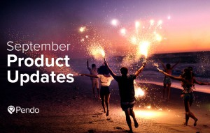 Pendo product updates 2016 september